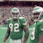 Reggie White and Jerome Brown