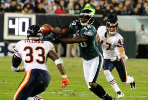 Maclin's been very good but has Nicks been better? Scott Cunningham/Getty Images