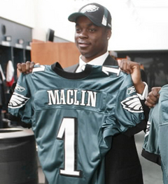 Maclin was a good pick in the first round.