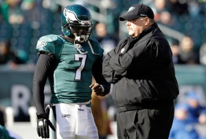 Reid has the opportunity to prepare Vick for a full offseason.   Rob Carr/Getty Images