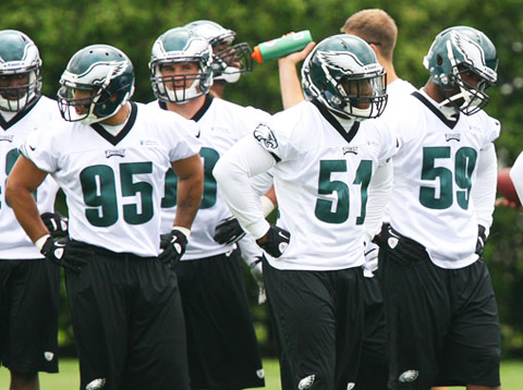 Eagles LB Depth Chart