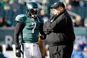 Vick needs Reid to help bring him along even further this year. 