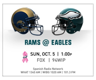 Eagles Rams