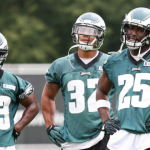 LeSean McCoy, Darren Sproles, Chris Polk