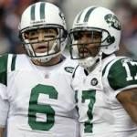 Braylon Edwards and Mark Sanchez